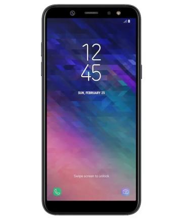 Samsung Galaxy A6 ZWART SM-A600FN/DS (2018)-0