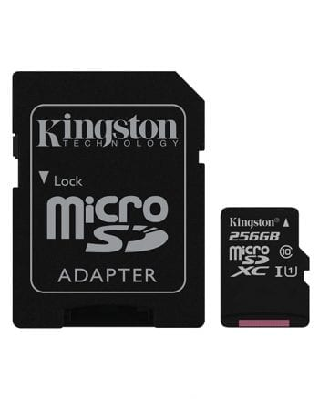 Kingston MicroSDHC Card 256GB Class 1-0