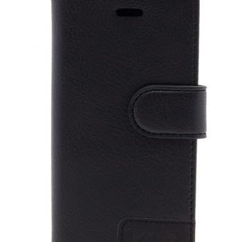 IPHONE 5 BOOKCASE ZWART MG-0