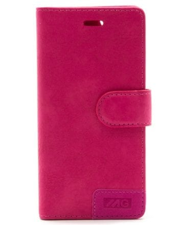 IPHONE 6/6S ROZE BOOKCASE MG-0