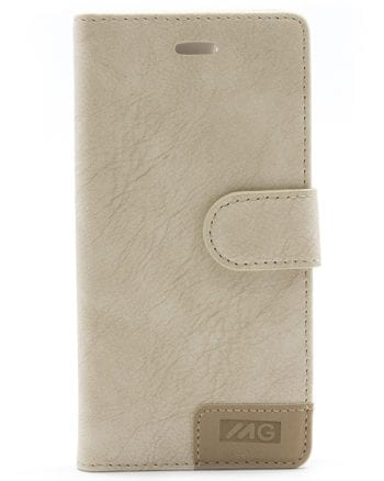 Apple iPhone 7 / 8 beige bookcase mg-0