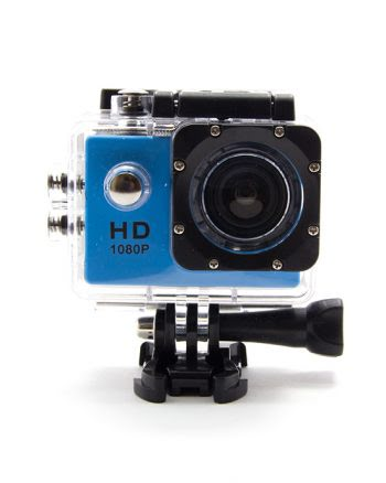 SPORTS ACTION CAMERA PAKKET 4K BLAUW-0