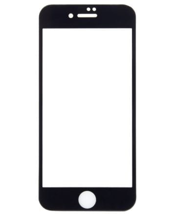 iphone 7 Tempered Glass Screenprotector zwart MG-0