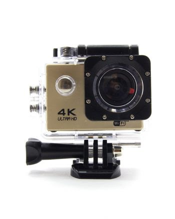 SPORTS ACTION CAMERA PAKKET 4K goud-0