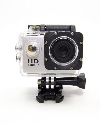 SPORTS ACTION CAMERA 1080P ZILVER-0