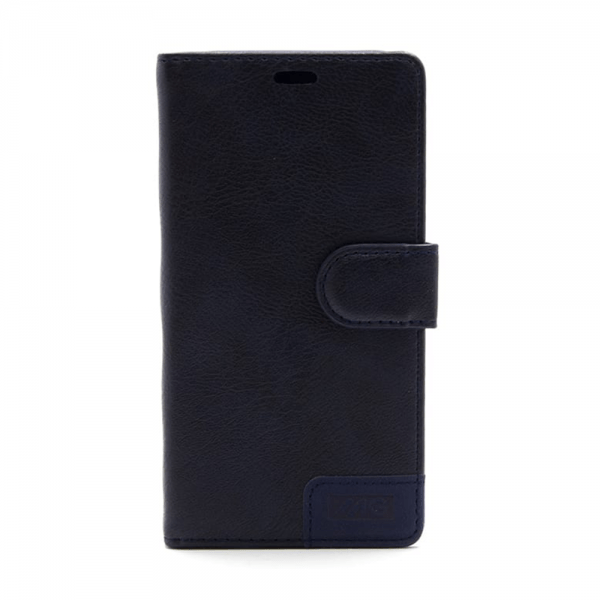 Apple iPhone 6(S) Plus Donkerblauw Book Case MG