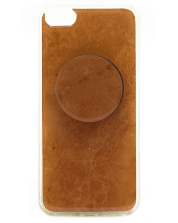 APPLE iPhone 5/5S/SE bruin marmer print-0