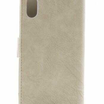 Apple iPhone X Smart Bookcase Beige-12460