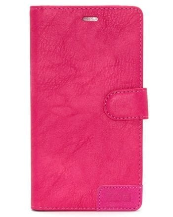 IPHONE X SMART BOOK CASE - FUCHSIA-0