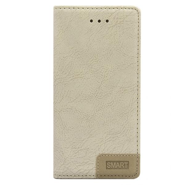 Samsung Galaxy J1 Mini Prime Smart Book Case - Beige