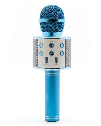 Karaoke Microfoon Blauw-0