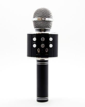Karaoke Microfoon Zwart-0