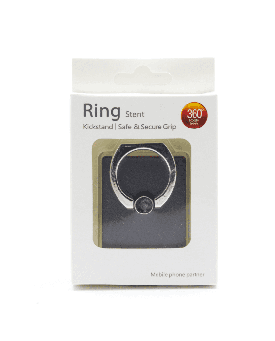 RING STENT KICKSTAND ZILVER-12257