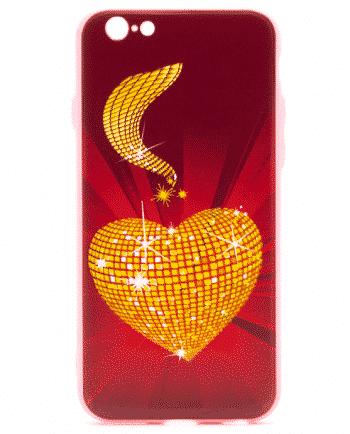 Apple iPhone 6(s) gouden hart-0