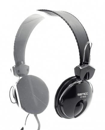 stereo headset st-808 zwart-0