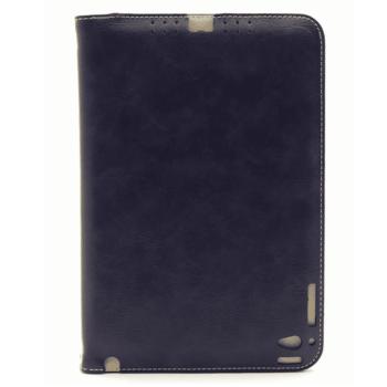 Apple iPad Mini 4 Leren Hoesje Blauw
