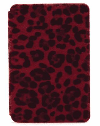 IPAD mini 1-2-3 cheetah print rood-0