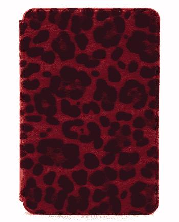 apple ipad mini 4 tijgerprint rood-0