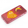 Iphone X gouden hart-13100