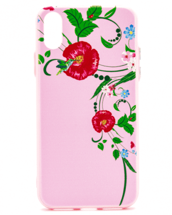 Iphone XS HOESJE bloemen-0