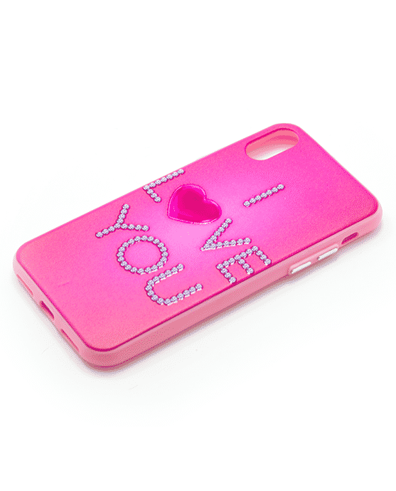 Apple Iphone X i love you hoesje-13826