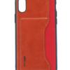 APPLE IPHONE X leer en kunststof rood-0