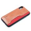 APPLE IPHONE X leer en kunststof rood-14361
