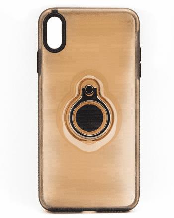 Apple iPhone XS MAX beige hoesje-0