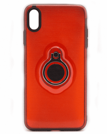 Apple iPhone XS MAX rood hoesje-0