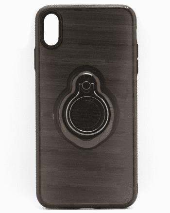 Apple iPhone XS MAX Zwart hoesje-0
