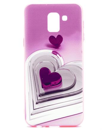 Samsung J6 (2018) paarse hart-0