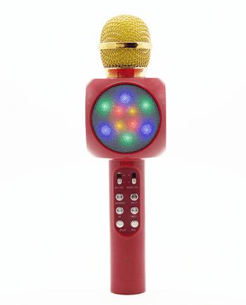 Karaoke Wireless Microfoon HIFI SPEAKER rood-0