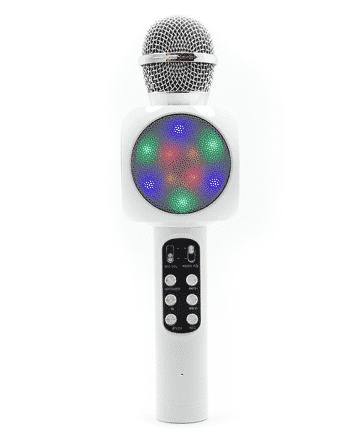 Karaoke Wireless Microfoon HIFI SPEAKER wit-0