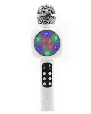 Karaoke Wireless Microfoon HIFI SPEAKER wit-0