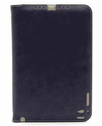 apple ipad mini 4 LEREN HOESJE blauw-0