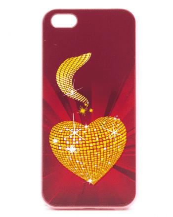 APPLE iPhone 5/5S/SE Gouden Hart-0