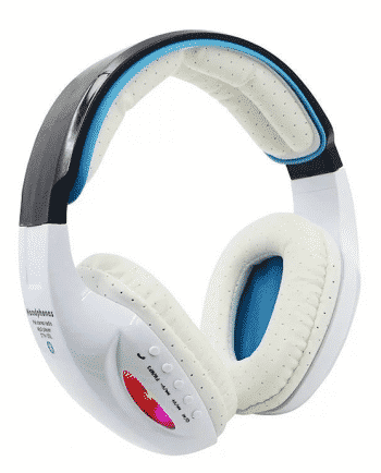 bluetooth headphone STN-05L BLAUW EN WIT-0