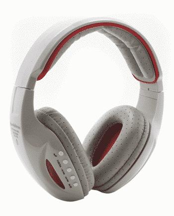 bluetooth headphone STN-05L GRIJS EN ROOD-0