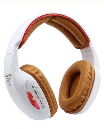 bluetooth headphone STN-05L ORANJE EN WIT-0