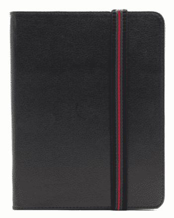 Samsung TAB 10 inch HOESJE zwart met rode strap-0