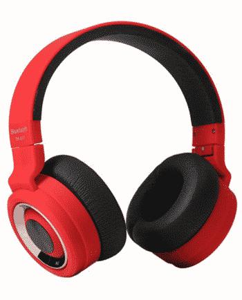 bluetooth headphone TM-017 rood en zwart-0