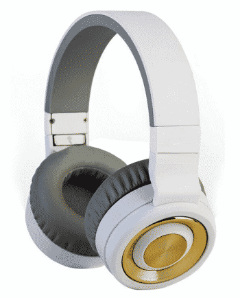 bluetooth headphone TM-017 wit en grijs-0