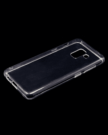 Samsung A8 (2018) TPU hoesje transparant-14948