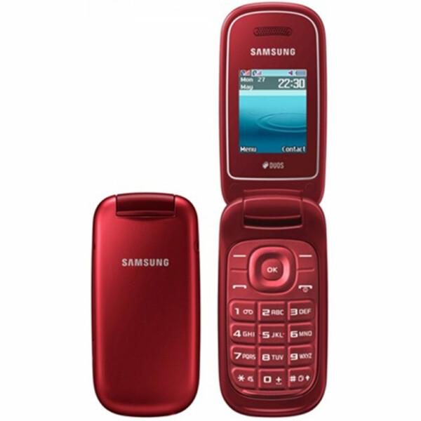 Samsung E1272 - Rood