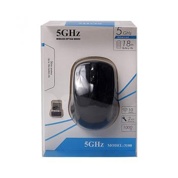 5 GHz Wireless Optical Mouse - Zwart