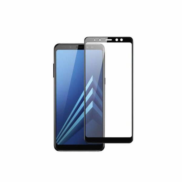 Samsung Galaxy A8 (2018) Screenprotector - Zwart