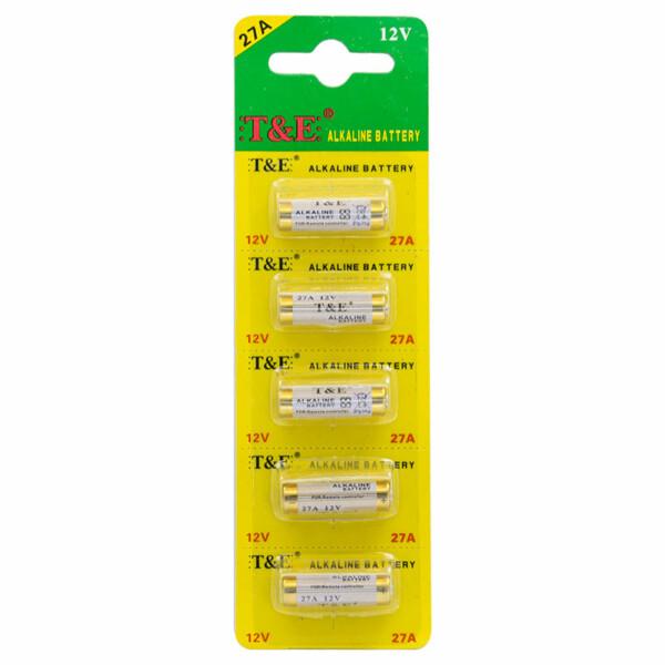 T&E Alkaline Batterij 12V / 27A