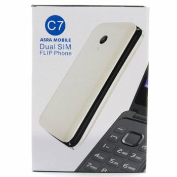 Asra Mobile C7 Goud 8 MB - Seniorentelefoon met grote knoppen