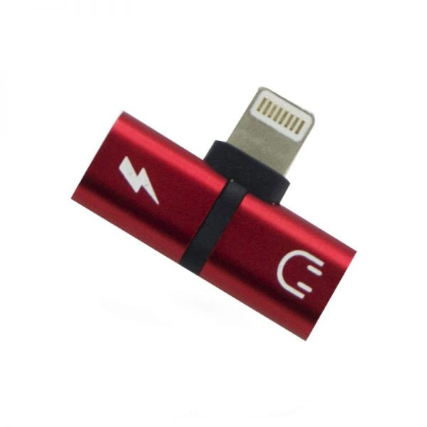 OTG Connector - Lightning - Rood
