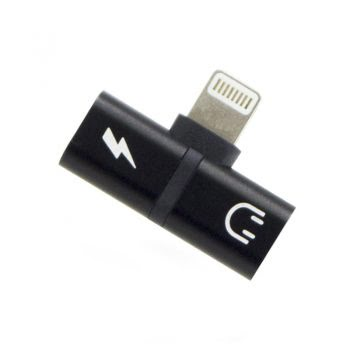 OTG Connector - Lightning - Zwart
